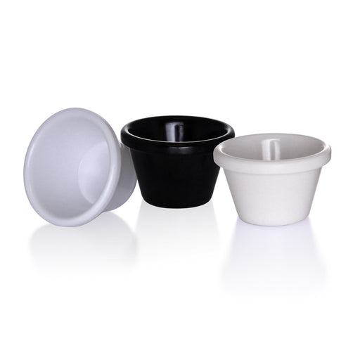 1 ½ oz. Smooth Melamine Ramekin - 12/pack