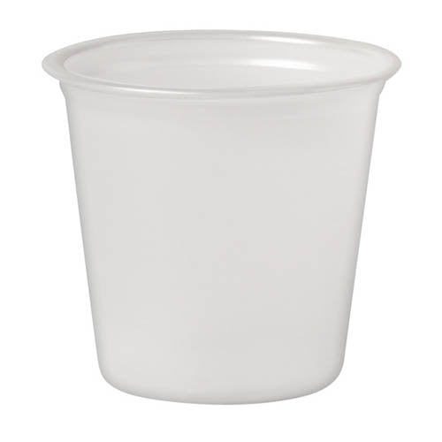 Dart Plastic Shot Cups - 1.25 ounce