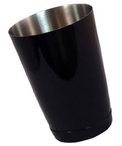 Cocktail Shaker Tin - Weighted 16 Ounce - Black