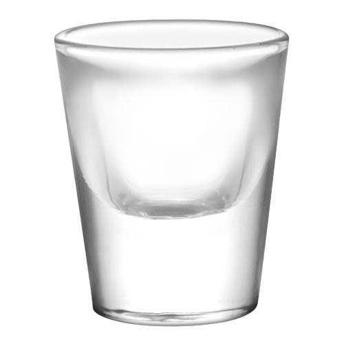 Customized BarConic® 1 ounce Thick Base Clear Shot Glass