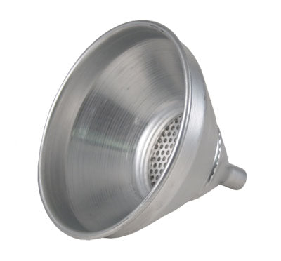 Aluminum Strainer Funnel - 1 Pint