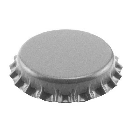 Crown Beer Bottle Caps - Silver - Packs of 55