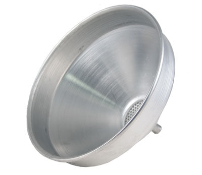 Aluminum Strainer Funnel - 2 Quart