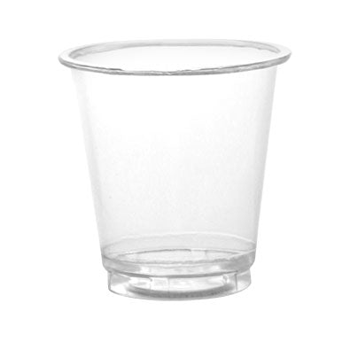 BarConic® Plasticware - 3 ounce Clear Plastic Cup