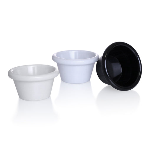 3 oz. Smooth Melamine Ramekin - 12/pack