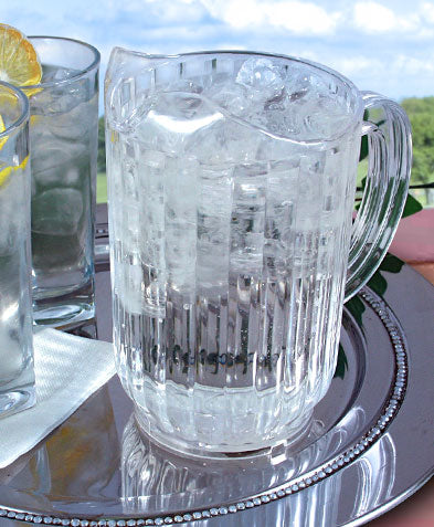 Clear Water Pitcher - SAN Plastic - 32oz