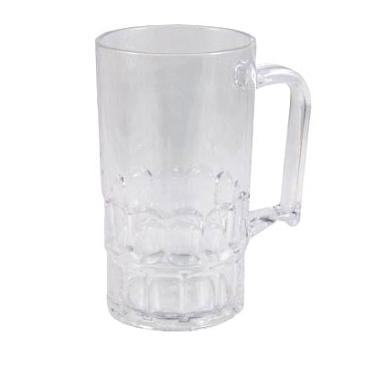 BarConic® Drinkware - Clear Polycarbonate Beer Mug Cup - 350 ML