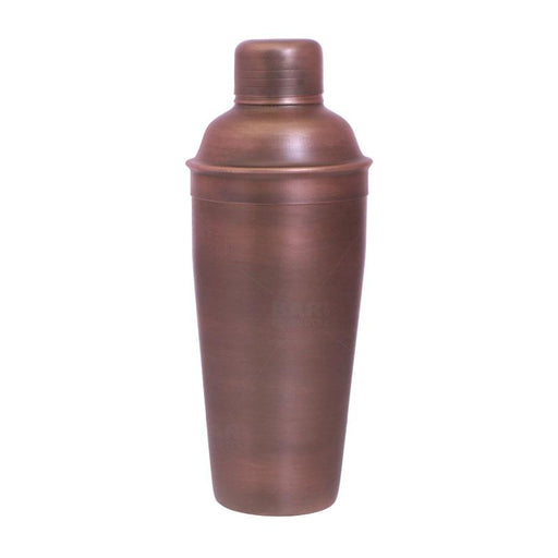 BarConic® 3 Piece Cocktail Shaker Deluxe – Antique Finish 24oz.