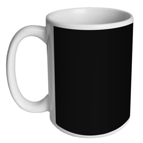 Custom Coffee Mug - Black - 15 ounce