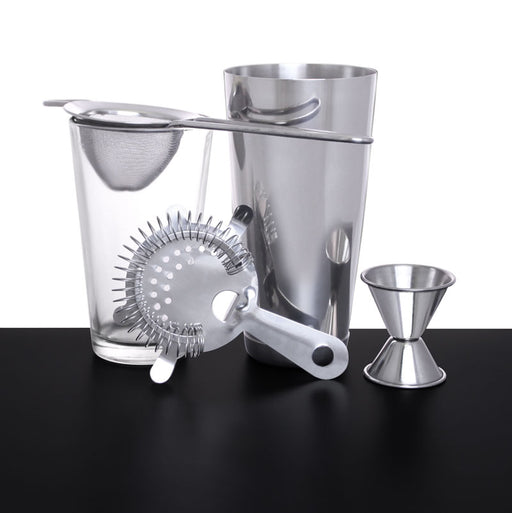 5 piece Professional Double Strained Cocktail Set