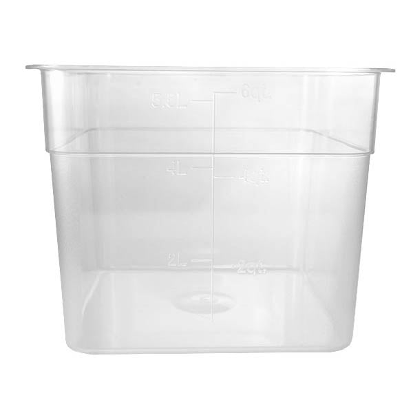 Polycarbonate Storage Container 6 Qt