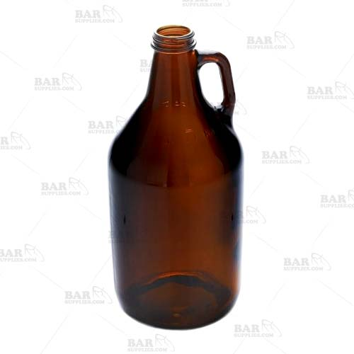 Amber Glass Growler - 64 oz.