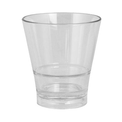BarConic® Drinkware - Clear Polycarbonate Rocks Cup - 8 ounce