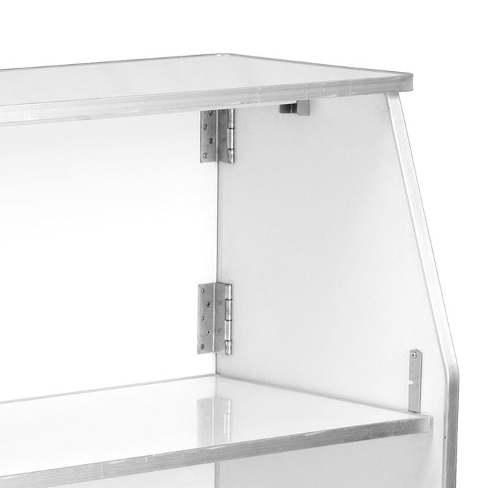 Portable Bar - White Laminate - 4 FT.