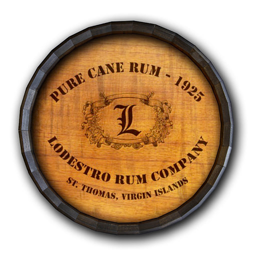 Cane Rum Barrel Top Tavern Sign