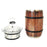 Orca 12oz Whiskey Barrel - Oak Wood Grain