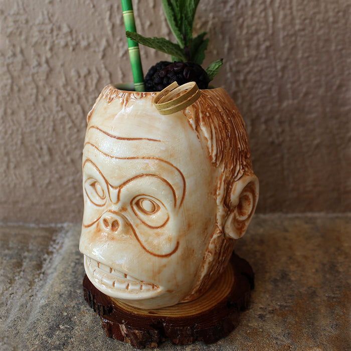 BarConic® Tiki Mug - Monkey Head - 16 oz