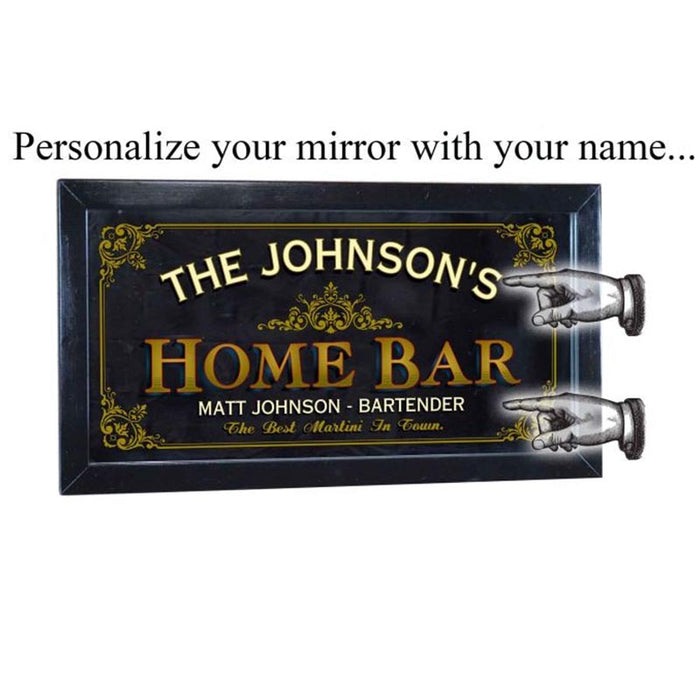 Mirror Home Bar