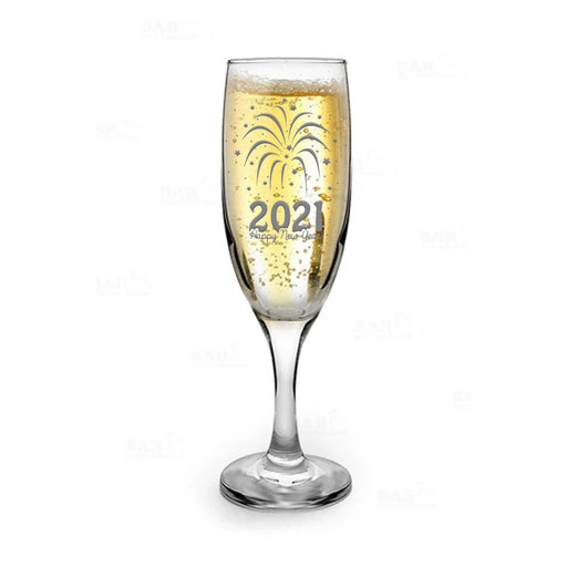 New Years Champagne Glass - 2021