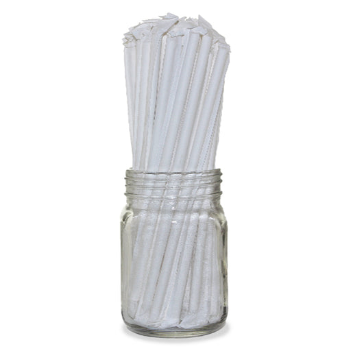 Eco Friendly Wrapped Paper Straws - Pack of 200