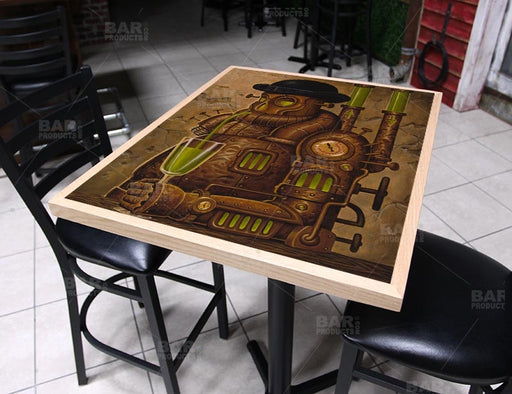 "Absenth 24"" x 30"" Wooden Table Top - Two Types Available"