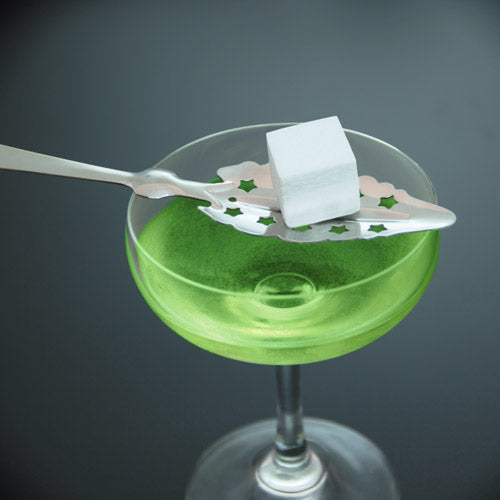 Absinthe Spoon - Scalloped