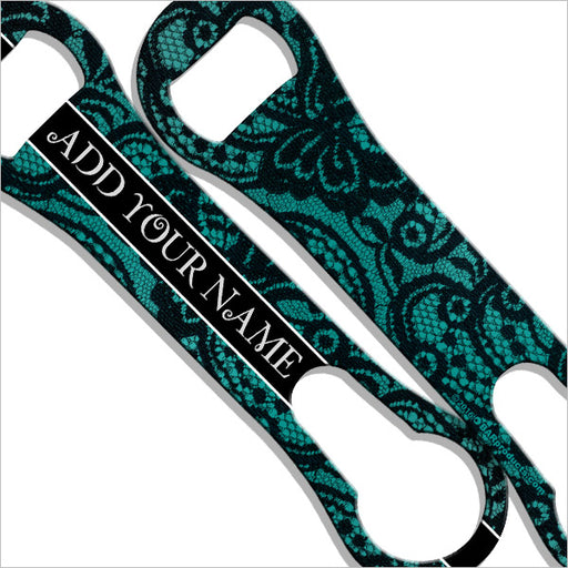 ADD YOUR NAME V-Rod® Bottle Opener – Sexy Lace Green