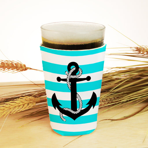 ADD YOUR NAME Pint Glass Cooler - Anchor