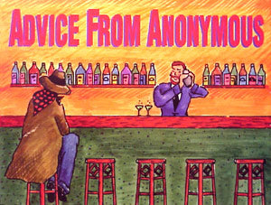 """Advice from Anonymous"" by Raymond Foley"