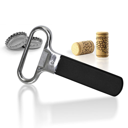 Ah-So Twist up Bottle Cork Puller and Opener