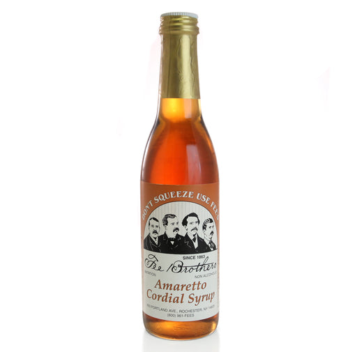 Fee Brothers Amaretto Cordial Syrup -12.8 oz