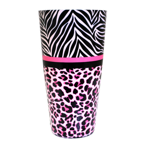 Cocktail Shaker Tin - Printed Designer Series - 28oz weighted - Girly Animal Print