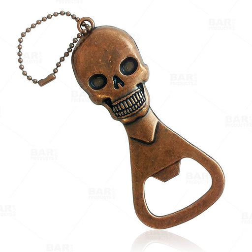 BarConic® Handheld Bottle Opener - Skull - Antique Copper