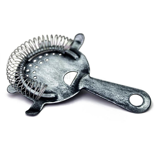 BarConic® Antique Silver Coated 4 Prong Strainer
