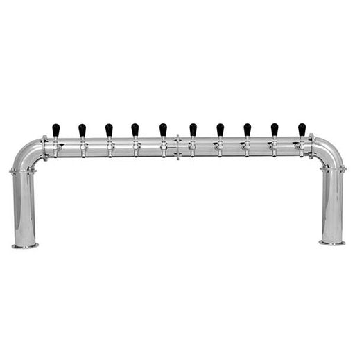 "Arcadia 10 - Glycol Cooled, 3/16"" Beer Line, 3/8"" Glycol Recirculation Line"