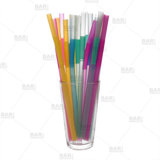 Assorted Flexible Straws - Pack of 25
