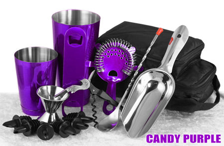 Complete Bartenders Tote Bag - Candy Purple