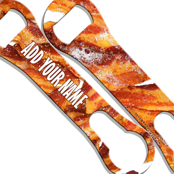 ADD YOUR NAME V-Rod® Bottle Opener – Bacon