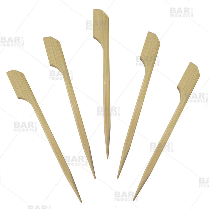 BarConic® Paddle Cocktail Picks - 3.5in (Pack of 100)