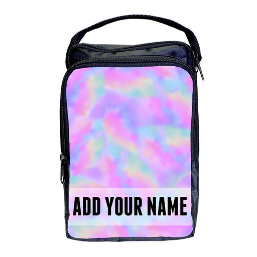 Bartender Tote Bag - ADD YOUR NAME Pastel Tie Dye Design