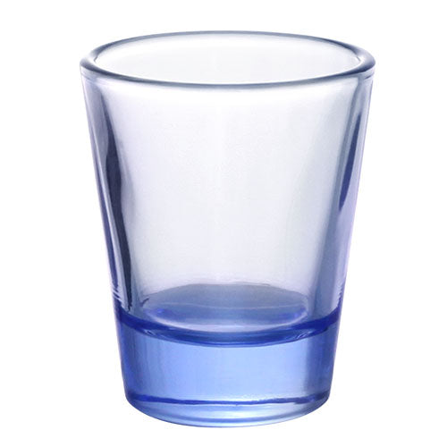 BarConic® Glassware - Shot Glass - Light Blue 1.5 ounce