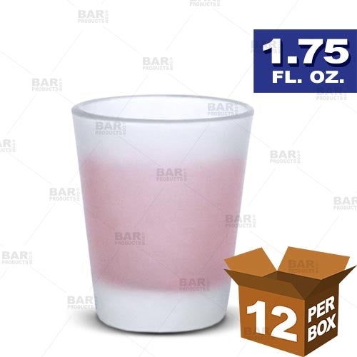 BarConic® Frosted Shot Glass - 1.75 oz [Box of 12]