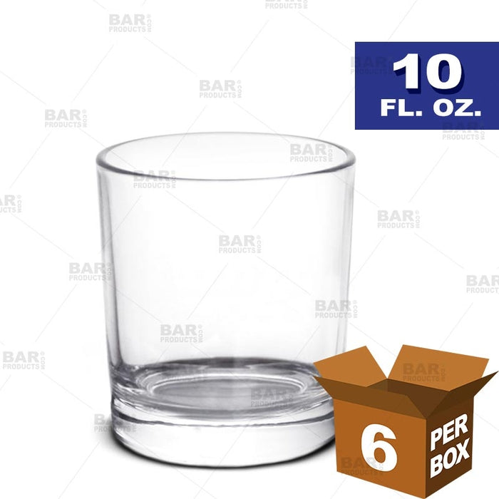 BarConic® Old Fashioned Glass - 10 oz [Box of 6]