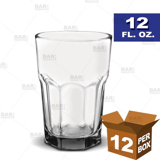 BarConic® Tall Glass (Alpine) - 12 oz [Box of 12]