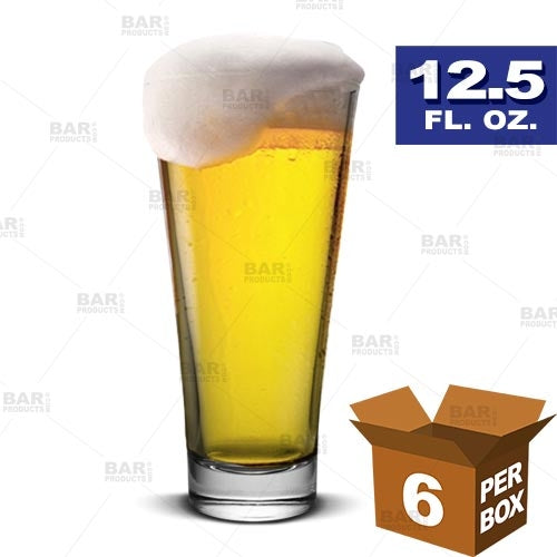 BarConic® Pilsner Glass (Liberty) - 12.5 oz [Box of 6]