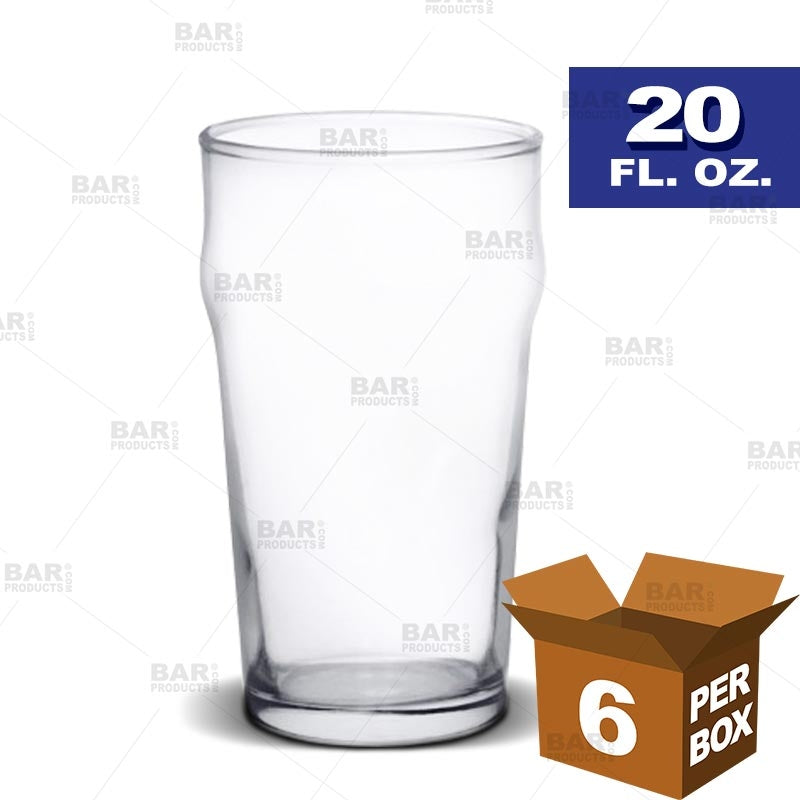 BarConic® English Pub Glass - 20 oz [Box of 6]