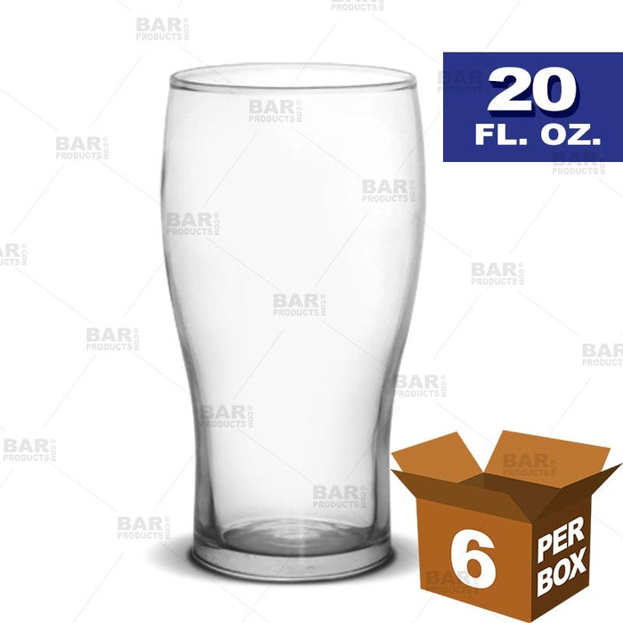 BarConic® Pint Glass - 20 oz [Box of 6]