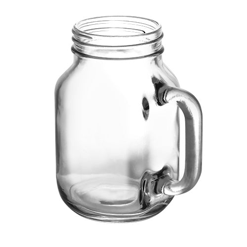 BarConic® Glassware - Mason Jar Mug Glass - 20 ounce - CASE OF 12