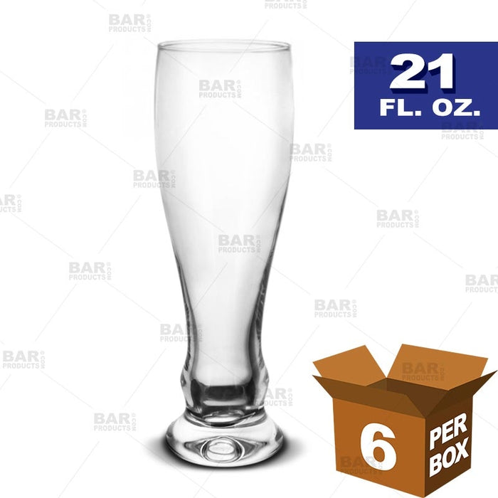 BarConic® Pilsner Glass - 21 oz [Box of 6]