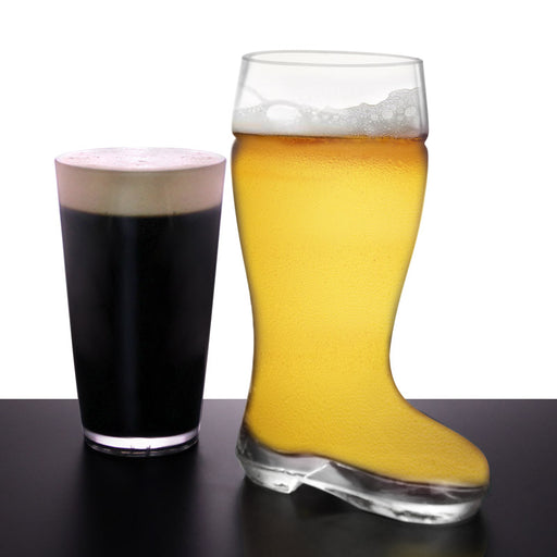 BarConic® 26 ounce Glass Beer Boots -  Das Boots